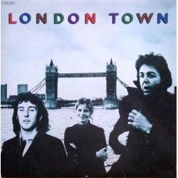 Wings (Paul McCartney) -  London Town - LP Vinyl Album + Poster