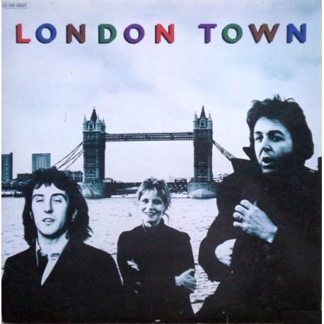 Wings (Paul McCartney) -  London Town - LP Vinyl Album + Poster