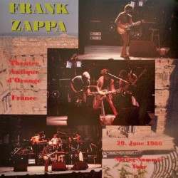 Frank Zappa ‎– Theatre Antique D'Orange - France  20. June 1980 - LP Vinyl Album Coloured