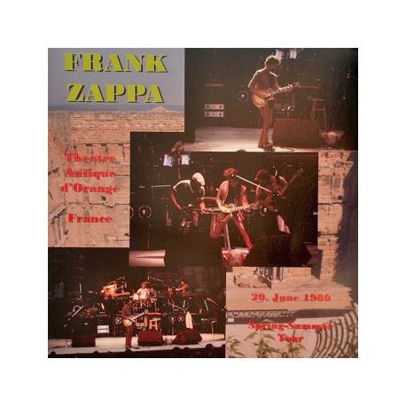 Frank Zappa – Theatre Antique D'Orange - France  20. June 1980 - LP Vinyl Album Coloured