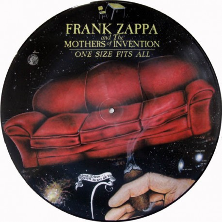 Frank Zappa And The Mothers Of Invention - One Size Fits All - LP Vinyl Album Picture Disc