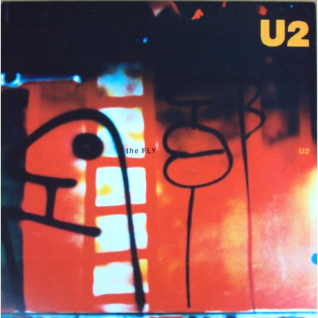 U2 - The Fly - Promo Brazil - Maxi Vinyl 12 inches