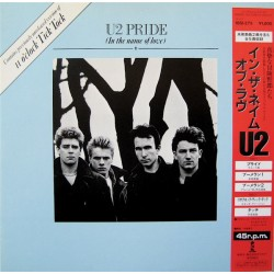 U2 ‎– Pride - In The Name Of Love - Maxi Vinyl 12 inches Japan