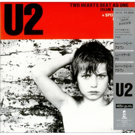 U2 – Two Hearts Beat As One - Maxi Vinyl 12 inches - Japan