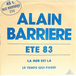 Alain Barriere ‎– Ete 83 - Maxi Vinyl 12 inches - Promo