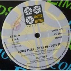 Berliner – Donde Estas - Maxi Vinyl 12 inches