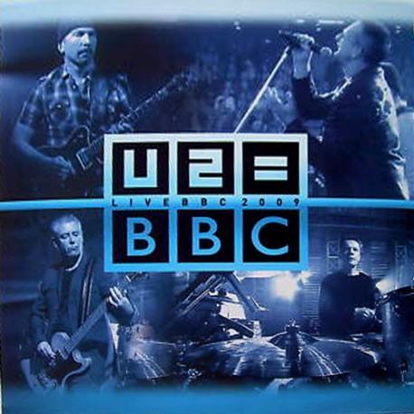 U2 – Live BBC 2009 - LP Vinyl Album - Coloured Blue