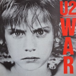 U2 ‎– War - LP Vinyl Album - Coloured Purple - Greece Edition