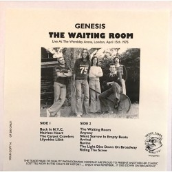 Genesis ‎– The Waiting Room - LP Vinyl Album Numbered - Limited Edition 200 copies