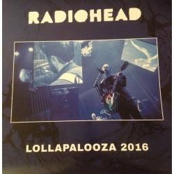 Radiohead - Lollapalooza 2016 - LP Vinyl Album