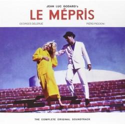 Le Mépris - The Complete Original Soundtrack Jean Luc Godard - Double LP Vinyl Album
