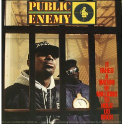 Public Enemy ‎– It Takes A Nation Of Millions To Hold Us Back - LP Vinyl Album