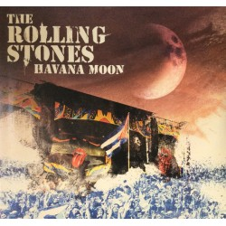 The Rolling Stones ‎– Havana Moon - Triple LP Vinyl + DVD - Live Cuba 2016 - French Edition