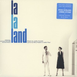 Justin Hurwitz - La La Land - Original Motion Picture Soundtrack - LP Vinyl Album - Special Edition Blue Vinyl