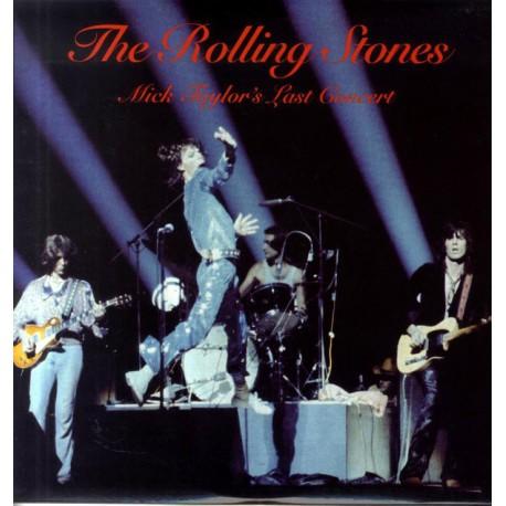 The Rolling Stones – Mick Taylor's Last Concert - Double LP Vinyl Album - Coloured