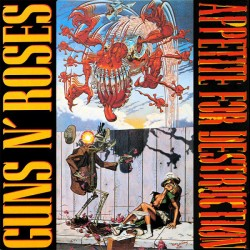 Guns N' Roses – Appetite For Destruction - Coloured - LP Vinyl Album