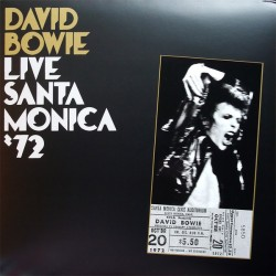 David Bowie ‎- Live Santa Monica '72 - Double LP Vinyl Album - Coloured Edition