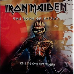Iron Maiden ‎- The Book Of Souls - 2016 Tokyo 1st Night - Triple LP Vinyl Album