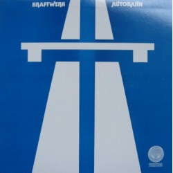 Kraftwerk ‎– Autobahn - LP Vinyl Album - Coloured Blue