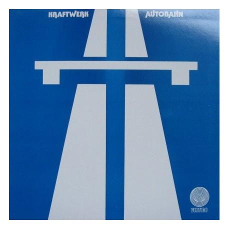 Kraftwerk – Autobahn - LP Vinyl Album - Coloured Blue