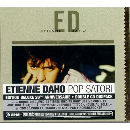 Etienne Daho – Pop Satori Deluxe Edition Double CD Album