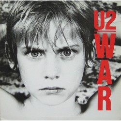 U2 ‎– War - LP Vinyl Album - Gatefold Cover