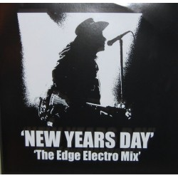 U2 ‎– New Years Day - The Edge Electro Mix - Maxi Vinyl 12 inches