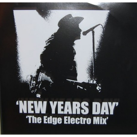 U2 – New Years Day - The Edge Electro Mix - Maxi Vinyl 12 inches