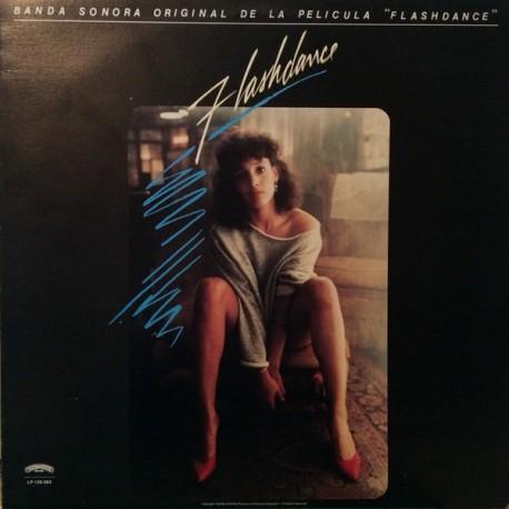 Banda Sonora Original De La Película Flashdance - LP Vinyl Album - Venezuela Pressing