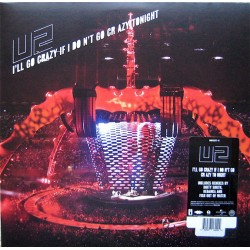 U2 ‎– I'll Go Crazy If I Don't Go Crazy Tonight - Maxi vinyl 12 inches