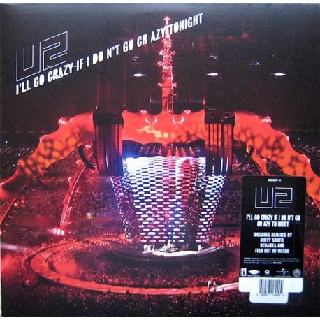 U2 – I'll Go Crazy If I Don't Go Crazy Tonight - Maxi vinyl 12 inches