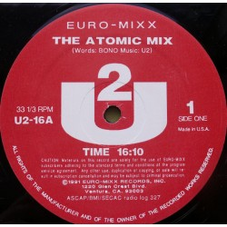 U2 ‎– The Atomic Mix - Maxi Vinyl 12 inches