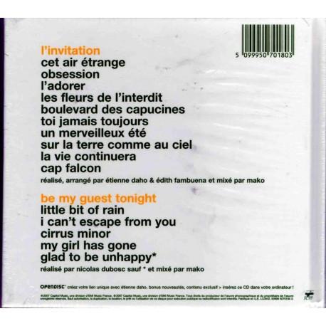 Etienne Daho - L'Invitation - Limited Edition Carrefour CD Album + Bonus