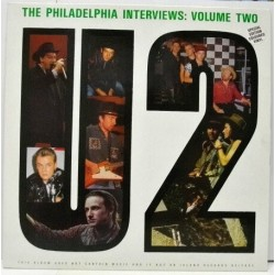 U2 ‎– The Philadelphia Interviews - Volume Two - LP Vinyl Album - Coloured Green