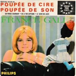 France Gall – Poupée De Cire Poupée De Son - Vinyl 7 inches - EP 45 RPM