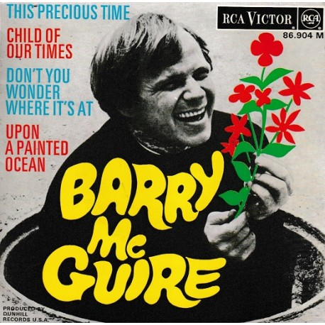 Barry Mc Guire - This Precious Time - Vinyl 7 inches - EP 45 RPM