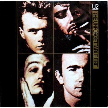 U2 – The Unforgettable Fire - Maxi Vinyl 12 inches UK