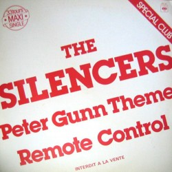 The Silencers ‎– Peter Gunn Theme - Maxi Vinyl 12 inches - Promo