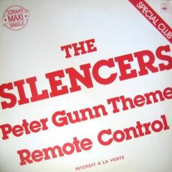 The Silencers – Peter Gunn Theme - Maxi Vinyl 12 inches - Promo