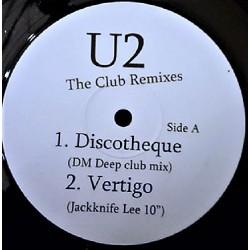U2 – The Club Remixes - Maxi Vinyl 12 inches - Discothèque - Vertigo