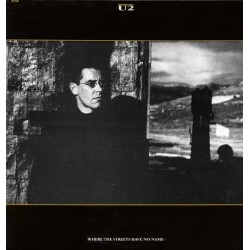 U2 ‎– Where The Streets Have No Name - Maxi Vinyl 12 inches - Italy