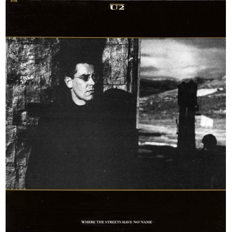 U2 – Where The Streets Have No Name - Maxi Vinyl 12 inches - Italy