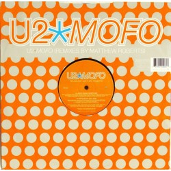 U2 ‎– MOFO - Remixes By Matthew Roberts, Roni Size & Romin - Maxi Vinyl 12 inches