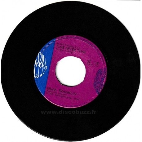 Erma Franklin - Don't Wait Too Long - Time After Time - SP Vinyl 45 RPM 7 inches