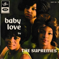 The Supremes ‎- Baby Love - EP Vinyl 45 RPM - 7 inches