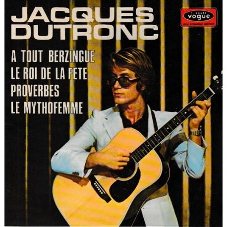 Jacques Dutronc – A Tout Berzingue - EP 45 RPM Vinyl - 7 inches