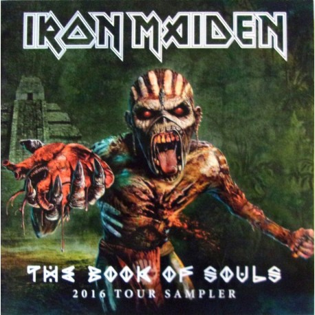 Iron Maiden ‎– The Book Of Souls 2016 Tour Sampler - LP Vinyl Album