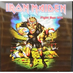 Iron Maiden ‎– Fight Run Win - LP Vinyl Album - Coloured