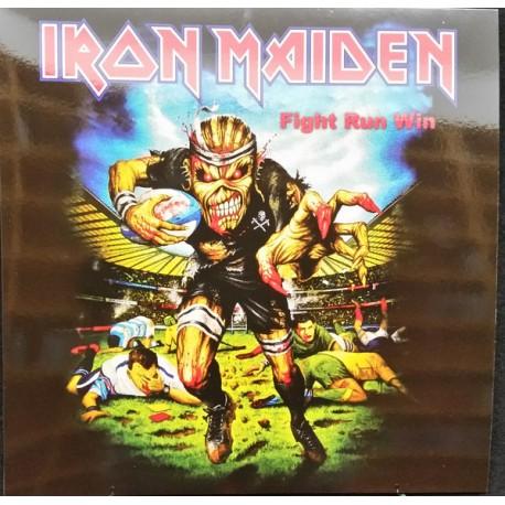 Iron Maiden – Fight Run Win - LP Vinyl Album - Coloured