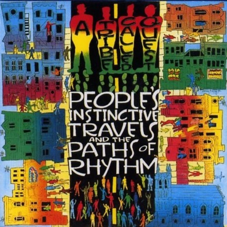 A Tribe Called Quest ‎– People's Instinctive Travels And The Paths Of Rhythm - Double LP Vinyl